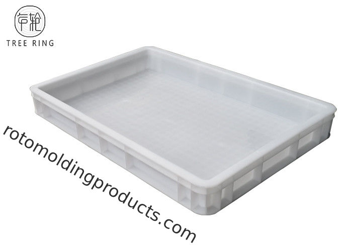 Pizza Confectionery Heavy Duty Plastic Storage Trays 600 X 400 X 120 Mm Food Grade