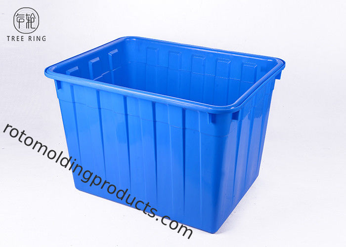 W 400L Industrial Coloured Plastic Storage Boxes For Textile Factory Storage