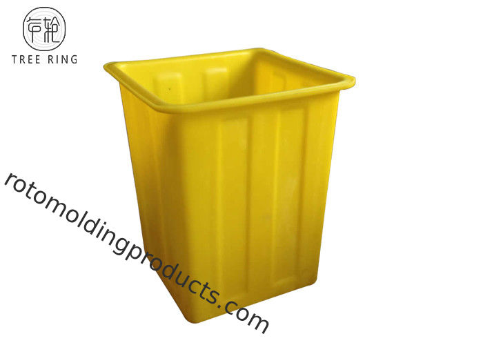 Hard K180 Large Square Plastic Containers Internal Liner And Recycling Multi Color