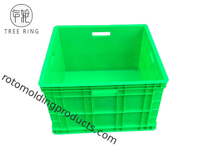 Heavy Duty Polypropylene Stacking Boxes , Auto Square Plastic Hobby Box